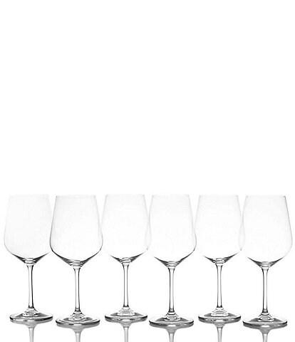 Mikasa Gianna Red Wine Glases, Set of 6