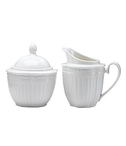 Mikasa Italian Countryside Creamer/Sugar Bowl Set