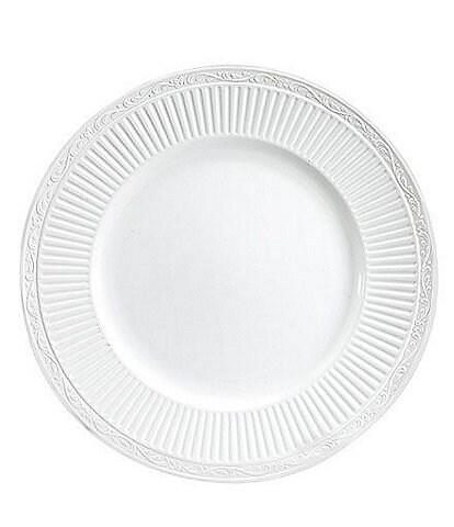 Mikasa Italian Countryside Ridged Floral Stoneware Dinner Plate