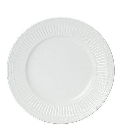 Mikasa Italian Countryside Ridged Floral Stoneware Salad Plate
