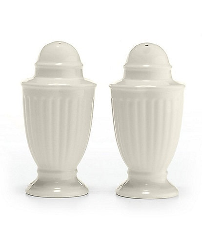 Mikasa Italian Countryside Ridged Stoneware Salt & Pepper Shaker Set