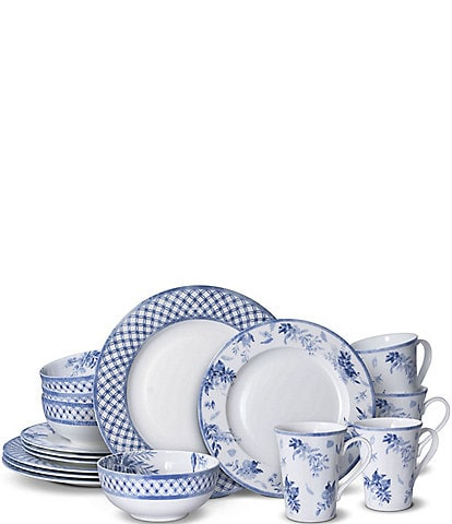 Mikasa Kiley 16-Piece Dinnerware Set, Service for 4