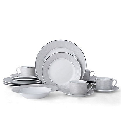 Mikasa Percy Gray 20-Piece Dinnerware Set