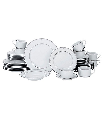 Mikasa Regent Bead 40-Piece Dinnerware Set