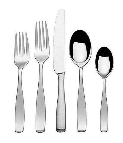 Mikasa Satin Loft 45-Piece Stainless Steel Flatware Set