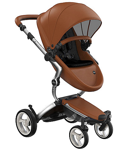 Mima Xari Stroller - Aluminum Chassis with Camel Reversible Seat and Carrycot