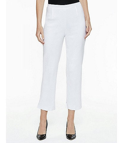 Ming Wang Lined Pull-On Ankle Pant