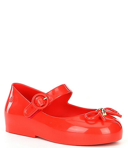 Mini Melissa Girls' Sweet Bow Detail Mary Jane (Infant)