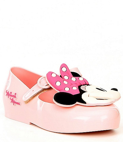 Mini Melissa Girls' Sweet Love + Minnie Mary Janes (Toddler)