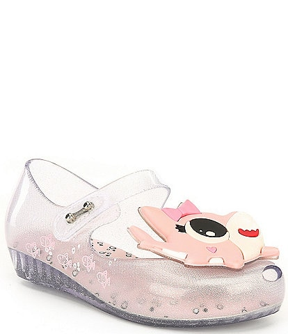 Mini Melissa Girls' Ultragirl Shark Mary Janes (Infant)