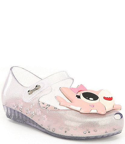 Mini Melissa Girls' Ultragirl Shark Mary Janes (Toddler)