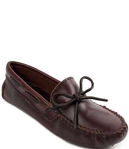 Minnetonka Classic Leather Driver Moccasins