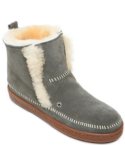 Minnetonka Jade Sheepskin Booties
