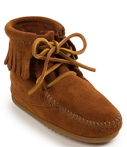 Minnetonka Kids' Suede Tramper Boot (Toddler)