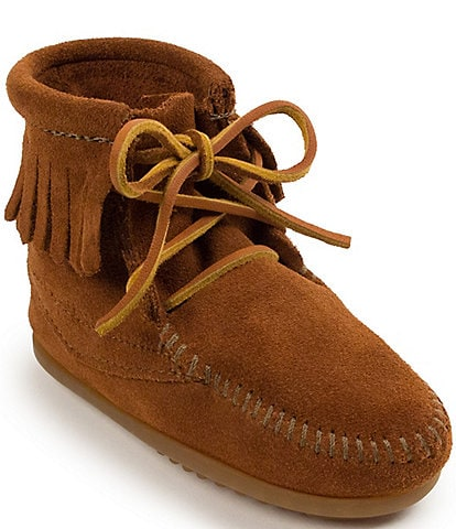 Minnetonka Kid's Suede Tramper Boot