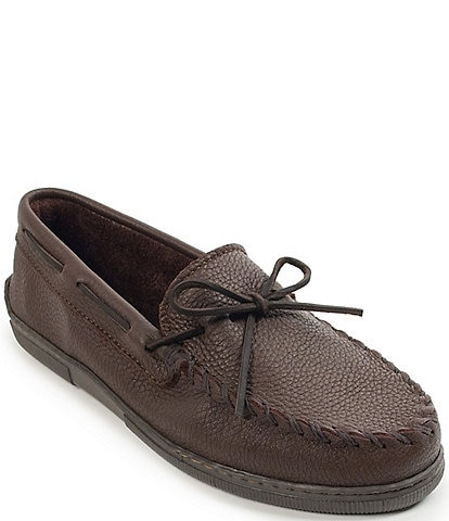 Minnetonka Men's Moosehide Classic Moccasin