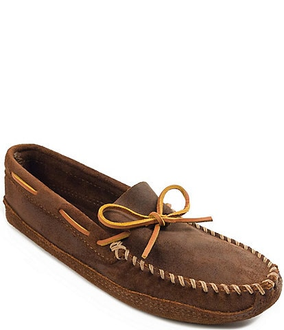 Minnetonka Men's Double Bottom Softsole Slipper