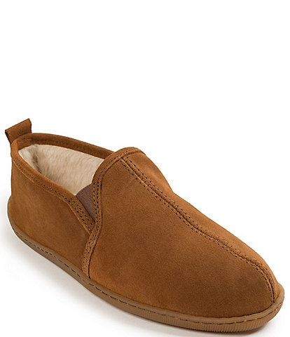 Minnetonka Men's Suede Romeo Slipper