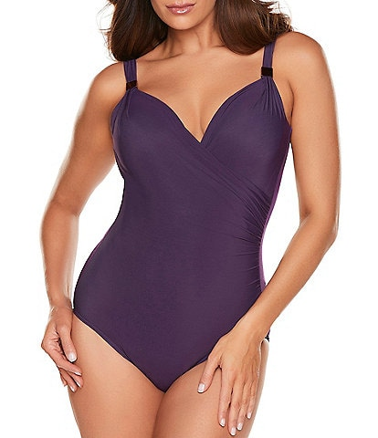 Miraclesuit Razzle Dazzle Siren Underwire Shaping One-Piece Swimsuit