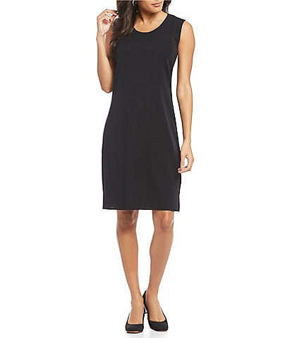 Misook Washable Sleeveless Sheath Dress