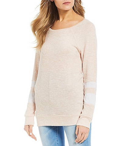 Miss Chievous Long-Sleeve Brushed Hacci Pullover Tunic
