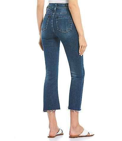 Miss Me High Rise Cropped Bootcut Jeans