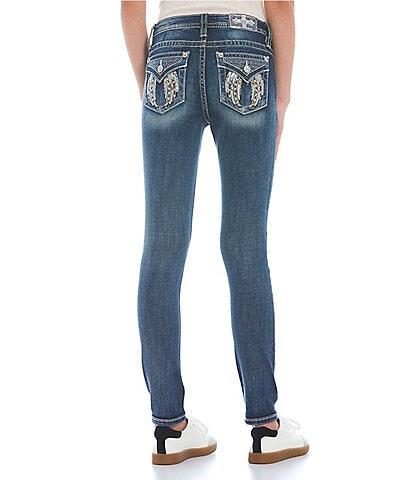 Miss Me Mid-Rise Angel Wing Flap Pocket Jeans