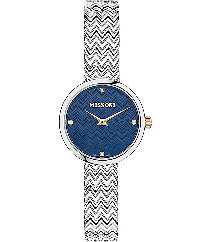 Missoni M1 Joyful Analog Stainless Steel Watch