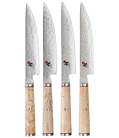 Miyabi Birchwood 4-Piece Steak Knife Set