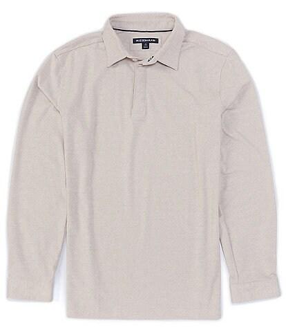 Mizzen+Main Filmore Drirelease® Performance Stretch Long-Sleeve Polo Shirt