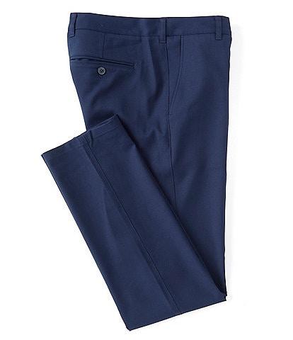 Mizzen+Main Flat-Front Solid Trim Fit Chino Pants