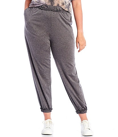 Moa Moa Plus Size Baby French Terry Pull-On Joggers