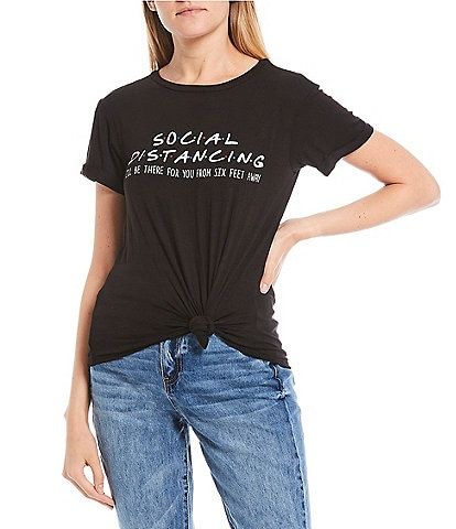 Moa Moa Short Sleeve Social Distancing Graphic Tee