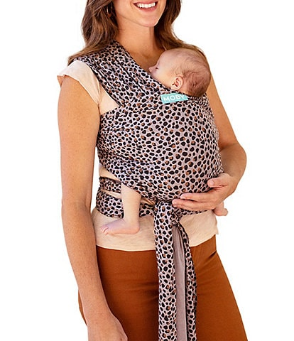 Moby Leopard Print Classic Baby Wrap