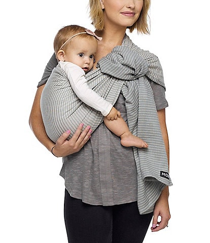 MOBY Silver Streak Baby Ring Sling