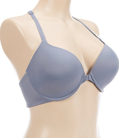 Modern Movement Lace Racerback Full-Busted Contour Underwire Bra