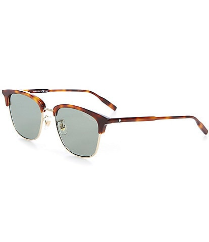 Montblanc Men's Club Master 54mm Sunglasses