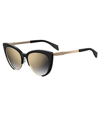 Moschino Brown and Black Cat Eye Sunglasses