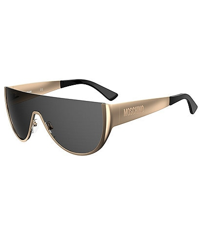 Moschino Metal Shield Sunglasses
