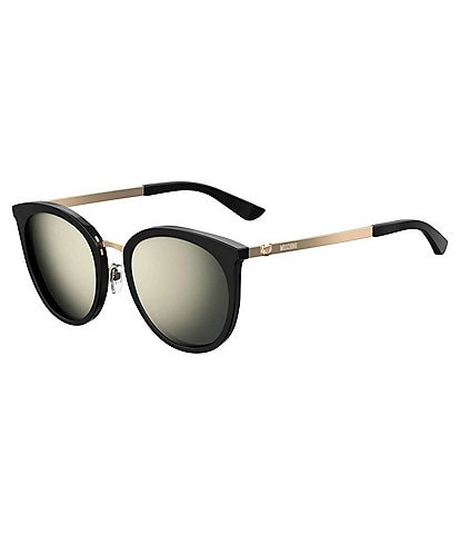 Moschino Rounded Sunglasses
