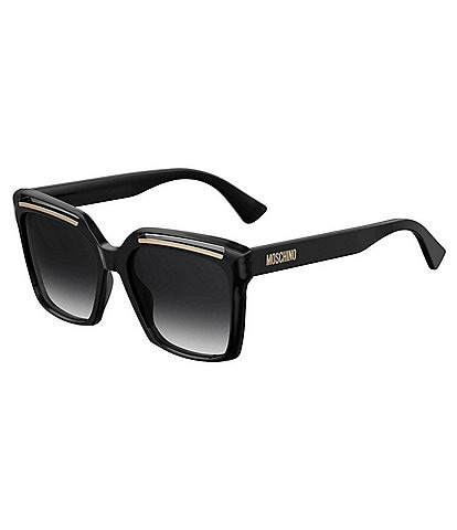 Moschino Square Oversized Sunglasses
