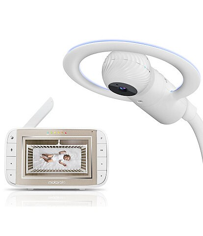 Motorola Halo+ Wi-Fi® Over-the-Crib 4.3 Baby Monitor & Soother