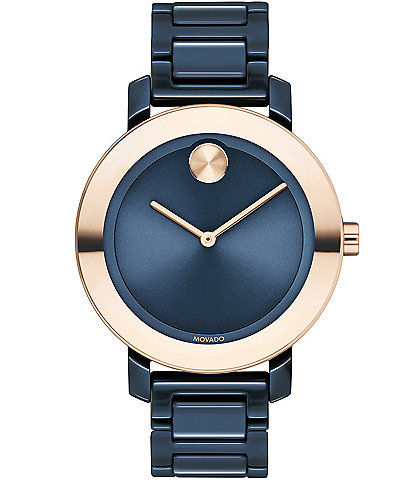 Movado Bold Evolution Ceramic Bracelet Watch