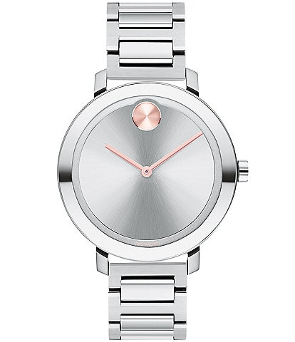 Movado Bold Evolution Stainless Steel Bracelet Watch