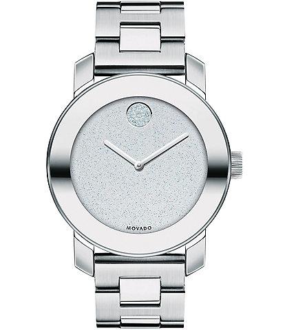 Movado Bold Glitter Bracelet Watch