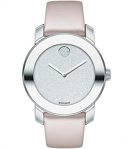 Movado Bold Iconic Metal Blush Watch