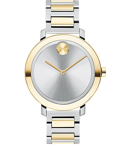 Movado Bold Women's Evolution Two-Tone Swiss Quartz Watch