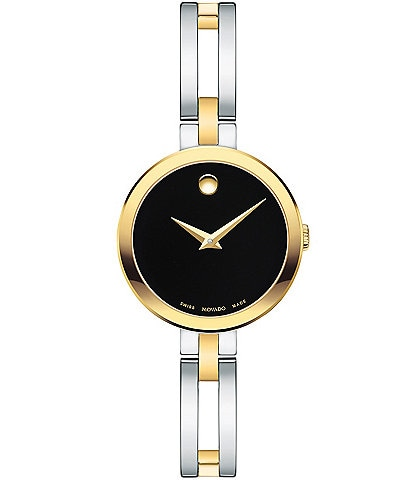 Movado Esperanza Two Tone Bangle Watch