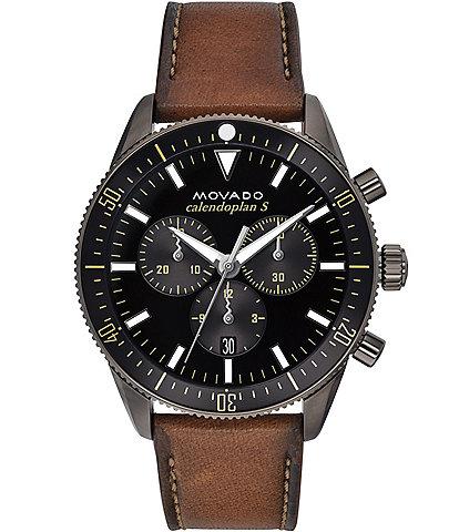 Movado Heritage Series Calendoplan S Chronograph Watch