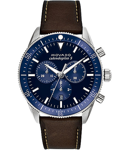 Movado Heritage Series Calendoplan S Chronograph Watch